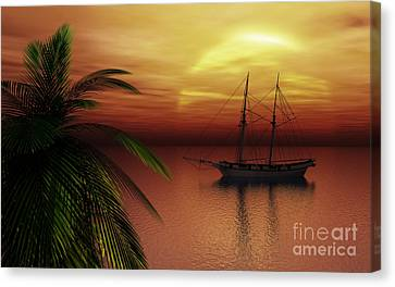 Island Explorer  Canvas Print