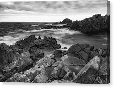 Canvas Print featuring the photograph Island by Hayato Matsumoto