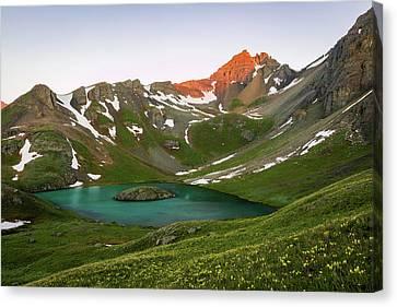 Island Lake Canvas Print