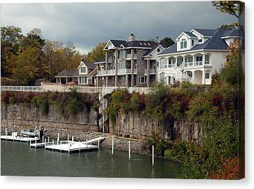 Canvas Print featuring the photograph Island Living by Kathleen Stephens