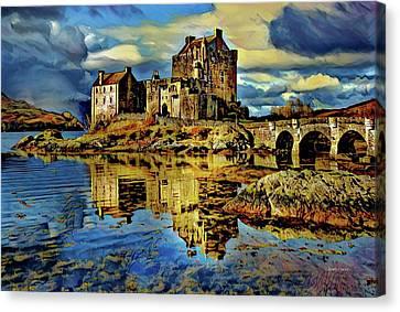 Island Of Donnan - Scotland Canvas Print