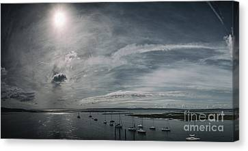 Island Panorama Canvas Print