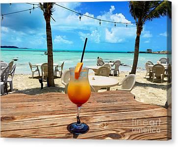 Turks And Caicos Islands Canvas Print - Island Rum by Carey Chen