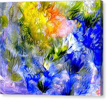 Island Spring Canvas Print by Fred Wilson