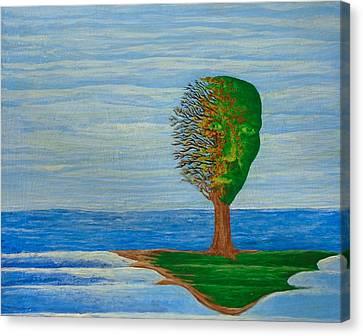 Island Canvas Print by Steve  Hester