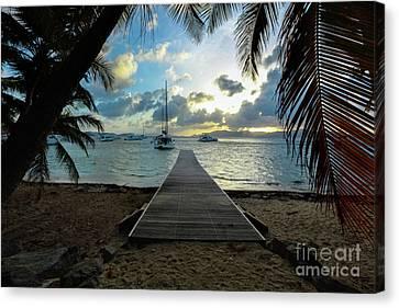 The Buffet Canvas Print - Island Sunset by Jon Neidert