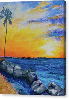 Canvas Print featuring the painting Island Time by Stephen Anderson