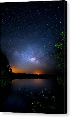 Island Universe Canvas Print by Mark Andrew Thomas