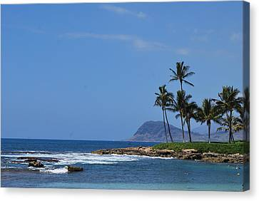 Canvas Print featuring the photograph Island View by Amee Cave