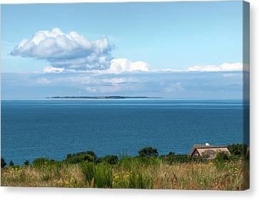 Island View Canvas Print by Kim Lessel