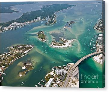 Islands Of Perdido - Not Labeled Canvas Print