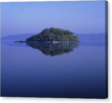 Isle Of Innisfree, Lough Gill, Co Canvas Print by The Irish Image Collection