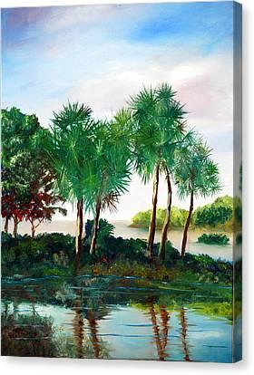 Isle Of Palms Canvas Print by Phil Burton