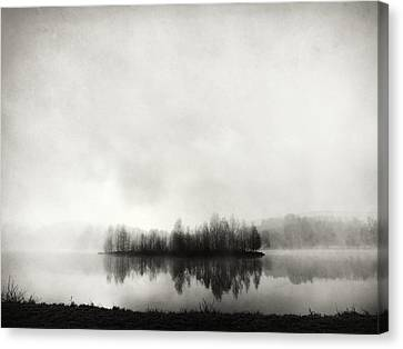 Isle Of Silence Canvas Print by Franz Bogner