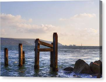 Isle Of Wight - England Canvas Print