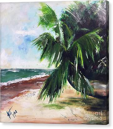 Isle V Canvas Print by Amy Williams