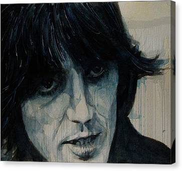 Guitarist George Harrison Canvas Print - Isn't It A Pity  by Paul Lovering