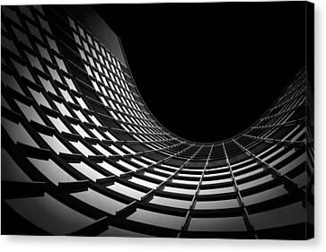 Cityhall Canvas Print - Isolation by Roland Shainidze