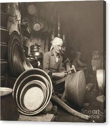 Israel: Metal Workers, 1938 Canvas Print by Granger