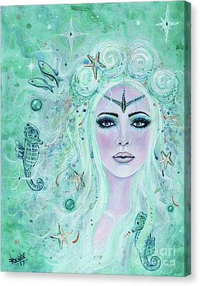 Issiana Mermaid Canvas Print by Renee Lavoie