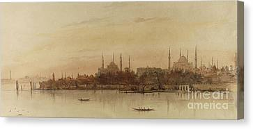 Istanbul Canvas Print by Alfred de Courville