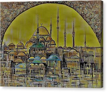Istanbul Canvas Print by Anna Duyunova
