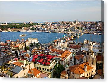 Istanbul Cityscape Canvas Print