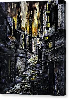 Istanbul Impressions. Lost In The City. Canvas Print by Anna Duyunova