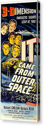 It Came From Outer Space Canvas Print