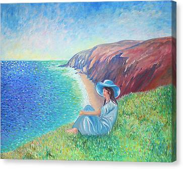 Canvas Print featuring the painting It Could Be Me by Elizabeth Lock