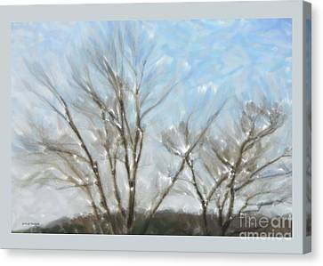 It Is Cold Outside Canvas Print by Gerlinde Keating - Galleria GK Keating Associates Inc