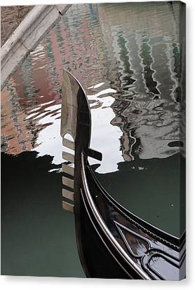 Canvas Print featuring the pyrography It Is Venice by Yury Bashkin
