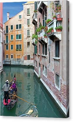 It Must Be Venice Canvas Print by Janet Fikar