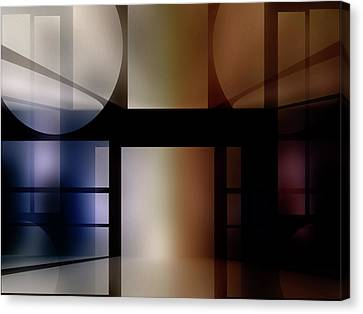 It Must Have Been A Dream Canvas Print by Another Dimension Art