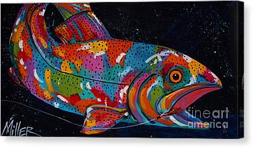 It Really Was This Big  Canvas Print by Tracy Miller
