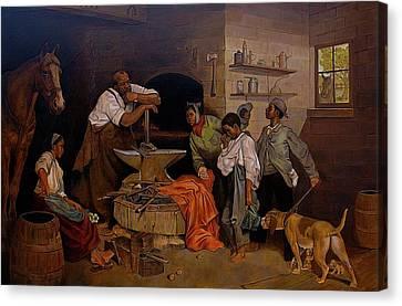It Takes A Village  Canvas Print by Curtis James