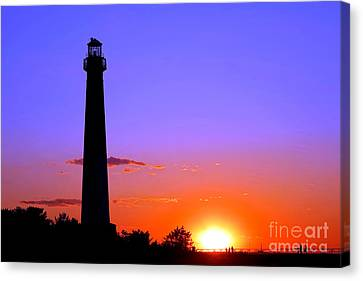 It Was A Good Day Barney Canvas Print