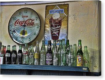 It Was Time For A Drink Canvas Print by Jan Amiss Photography