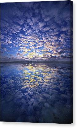 Canvas Print featuring the photograph It Was Your Song by Phil Koch