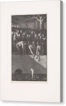 It Will Rain Drain Its Misery Canvas Print by Richard Roland Holst