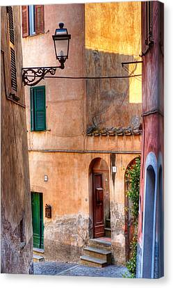 Italian Alley Canvas Print