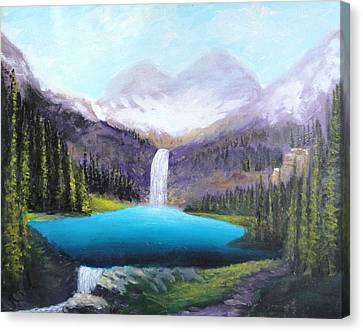 Italian Alps Canvas Print