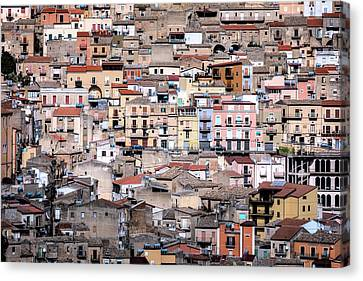 Sicily Canvas Print - Italian City by Joana Kruse