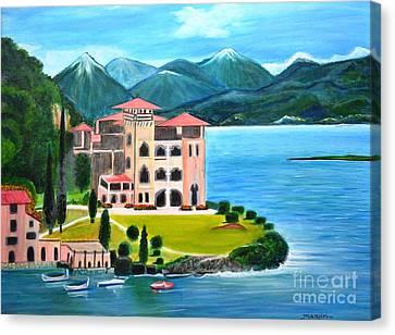Italian Landscape-casino Royale Canvas Print