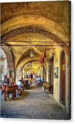 Italian Portico Canvas Print