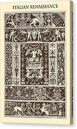 Italian Renaissance Canvas Print by Italian School