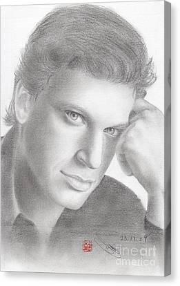 Italian Singer Patrizio Buanne Canvas Print by Eliza Lo