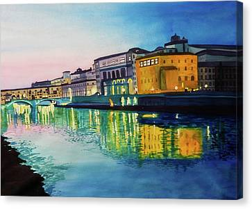 Italian Sunset Canvas Print
