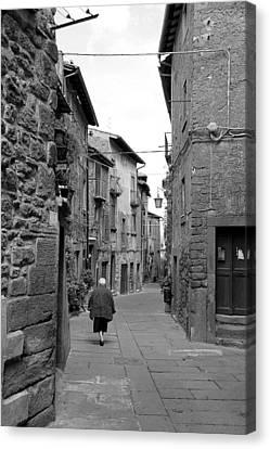 Italian Walk Canvas Print