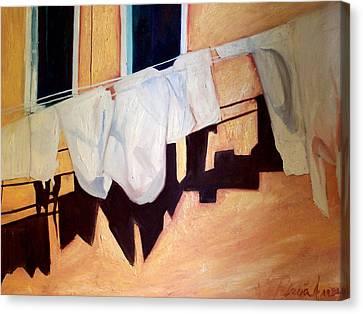 Italian Wash Canvas Print by Patricia Arroyo